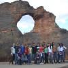 Alunos do 1º ano do ensino médio de São Julião – PI visitam Serra da Capivara
