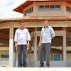 Construção de nova escola padrão em Vila Nova do Piauí está em fase de conclusão