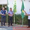 Desfile cívico, hasteamento das bandeiras e missa em homenagem aos 61 anos de Simões