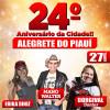 Márcio Alencar anuncia as atrações do 24º aniversário de Alegrete do Piauí