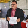 Nonato e Pereira são diplomados prefeito e vice de Francisco Macedo, na manhã desta quinta-feira.