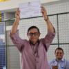 Chico Pitú e Vanete são diplomados prefeito e vice-prefeita de Marcolândia na manhã desta quinta-feira
