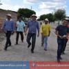 Valdinar visita instalações das escolas na zona rural em Padre Marcos, Secretário de educação acompanhou.