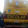 PRF flagra motorista conduzindo transporte escolar sem habilitação e sem tacógrafo no Piauí