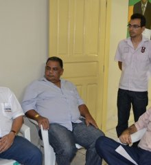 Equipe do DNOSC visita Monsenhor Hipólito