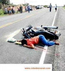 JAICÓS: Um morre e três ficam feridos em acidente na BR 407; veja fotos!