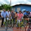 Alagoinha do Piauí: Entrega de ônibus e bicicletas