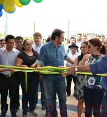 Wilson Martins e Vianney inauguram obras em Caldeirão Grande do Piauí