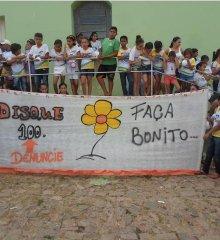 Caldeirão Grande do Piauí realiza passeata em prol das crianças e adolescentes