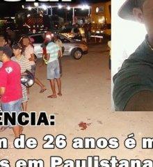Jovem de 26 anos é assassinado a tiros em Paulistana. Veja as imagens!