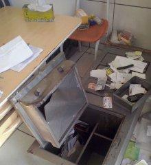 Criminosos arrombam cofre e furtam frigorífico em Jaicós