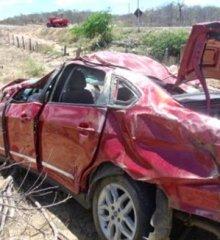 Acidente automobilístico deixa parentes do prefeito de Paulistana gravemente feridos