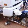 Caminhão atropela casal numa moto e arrasta motocicleta 15 km em cidade da região de Picos