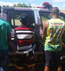 Força Tática de Paulistana apreende trio de menores que ostentava armas no WhatsApp