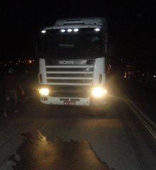 Motoqueiro morre ao bater de frente com Scania na BR 316 em Francisco Macedo