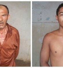 Em Paulistana pai é preso suspeito de tentar matar a filha com golpe de facão
