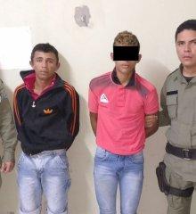 Dupla de Marcolândia é presa após  assalto em  Francisco Macedo