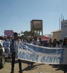 Alunos fazem manifestação pela instalação de energia elétrica em Escola Modelo de Caldeirão Grande do Piauí