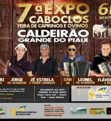 7ª Expocaboclos movimentará final de semana em Caldeirão Grande do Piauí