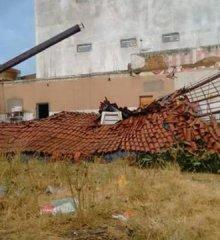 Vendaval causa destruição em Paulistana; veja as imagens