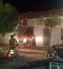 Bandidos explodem agência do Bradesco em Monsenhor Hipólito