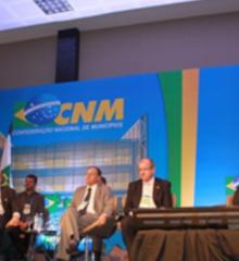 Presidente da APPM discursou na abertura do Seminário da CNM