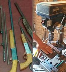 Polícia prende suspeito de fabricar armas caseiras em residência no PI