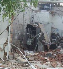 Grupo criminoso que roubou carro de casal explode banco em Monsenhor Hipólito