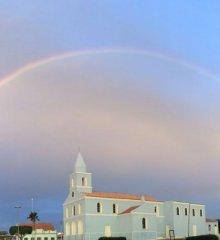 Arco-íris duplo aparece no céu de Paulistana e encanta moradores; veja!