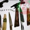 Após denúncia, Força Tática apreende várias armas em bar de Jacobina