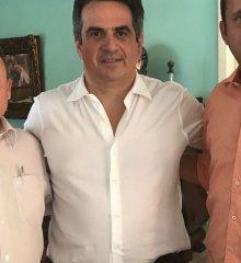Edilson Brito se reúne com o senador Ciro Nogueira em busca de melhorias para Vila Nova