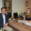 Secretária da Educação e presidente da APPM discutem pacto pela educação no Piauí
