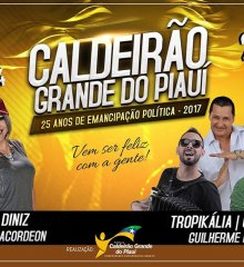 Prefeito João Vianney anuncia atrações musicais do aniversário de 25 anos de Caldeirão Grande