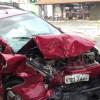 Carro que saiu de Jaicós com candidatos do concurso da PM se envolve em acidente em Teresina