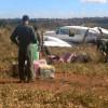 Piloto de avião interceptado com cocaína diz ter decolado de fazenda de Maggi
