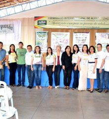Educação de Francisco Macedo realiza 'I Seminário Intermunicipal de Alfabetização' em parceria com municípios vizinhos