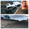 Asfalto alto, e acostamento baixo, é uma das hipóteses para o capotamento do carro que matou a jovem universitária de Alagoinha