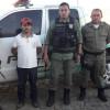 PM de Jaicós prende acusado de latrocínio em Picos; crime foi cometido contra funcionário da 'Moto Moura'