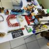 Operação realiza prisões, apreende maconha, armas e munição no Piauí