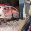 PM é atropelada 3 vezes ao tentar conter fazendeiro que incendiou o carro da ex-mulher