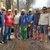 Em Francisco Macedo, poço perfurado tem vazão de 50 mil litros d'água por hora e moradores comemoram