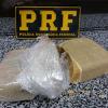 Droga é apreendida pela PRF dentro de ônibus em Floriano; uma pessoa detida