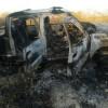 Em Monsenhor Hipólito, caminhonete de três irmãos comerciantes pega fogo na PI-229