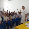 Em Francisco Macedo, secretaria de saúde promove palestra sobre saúde bucal para alunos da Unidade Escolar Joaquim Antão de Carvalho