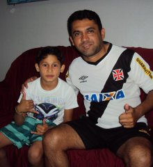 Em São Julião, garoto de 09 anos é selecionado para jogar no Vasco da Gama