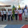 ALEGRETE | Alunos do ASA levam reflexão e criatividade para as ruas na abertura do 'II Festival de Identidade Cultural'