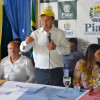 Em Francisco Santos, Governador Wellington Dias inaugura obras de pavimentação asfáltica
