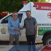 Em Alagoinha, prefeito Jorismar entrega nova ambulância para o Hospital local e faz avaliação dos seus 10 meses de mandato