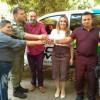 Em Teresina, prefeito Jorismar recebe nova viatura para o GPM de Alagoinha
