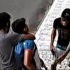 Dupla agarra e derruba jovem para roubar celular em Picos, veja o video!